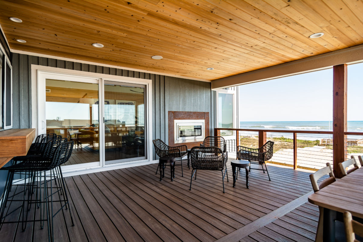 A better connection in an open floor plan on the Outer Banks by SAGA