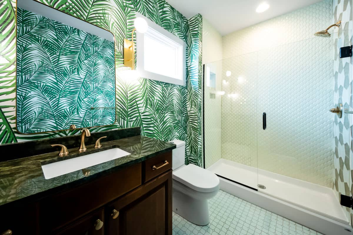 Creative bathroom design for your coastal cottage or beach house on the Outer Banks by SAGA