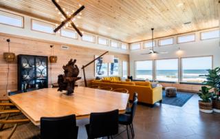 Open floor plan Beach House Transcendence Outer Banks SAGA