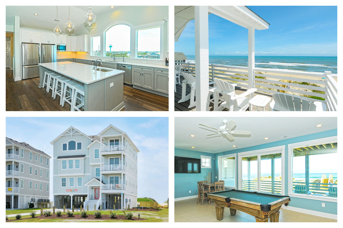 Beach Sol vacation rental for sale Hatteras by SAGA