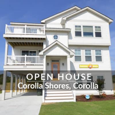 Tour this model home Corolla Shores moongate open house SAGA