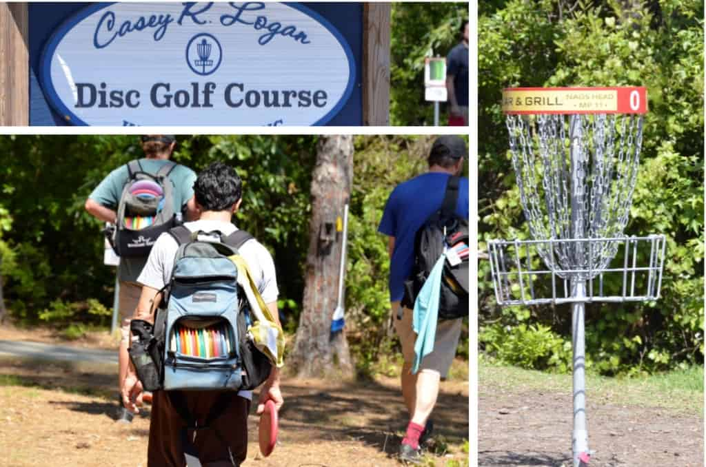 Test your skills among the pines at this fun disc golf course - Casey R Logan in Kill Devil Hills North Carolina