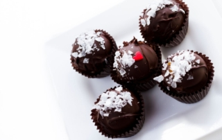 February recipe of the month valentines truffles