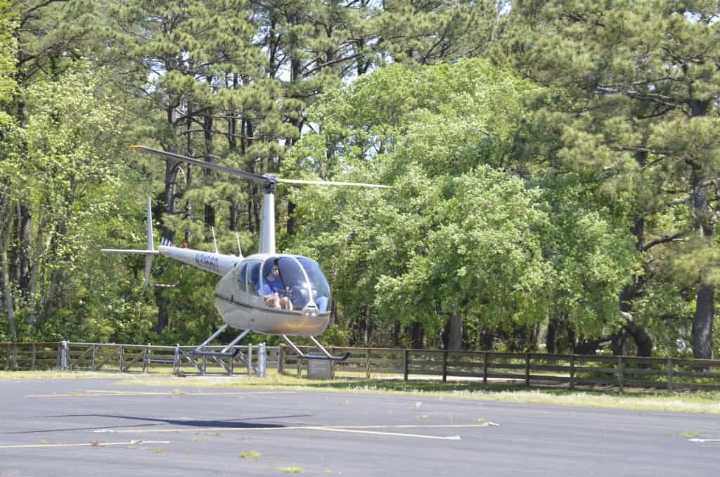 The airstrip near the Wright Brothers Memorial is a popular place to see military and private aircraft land