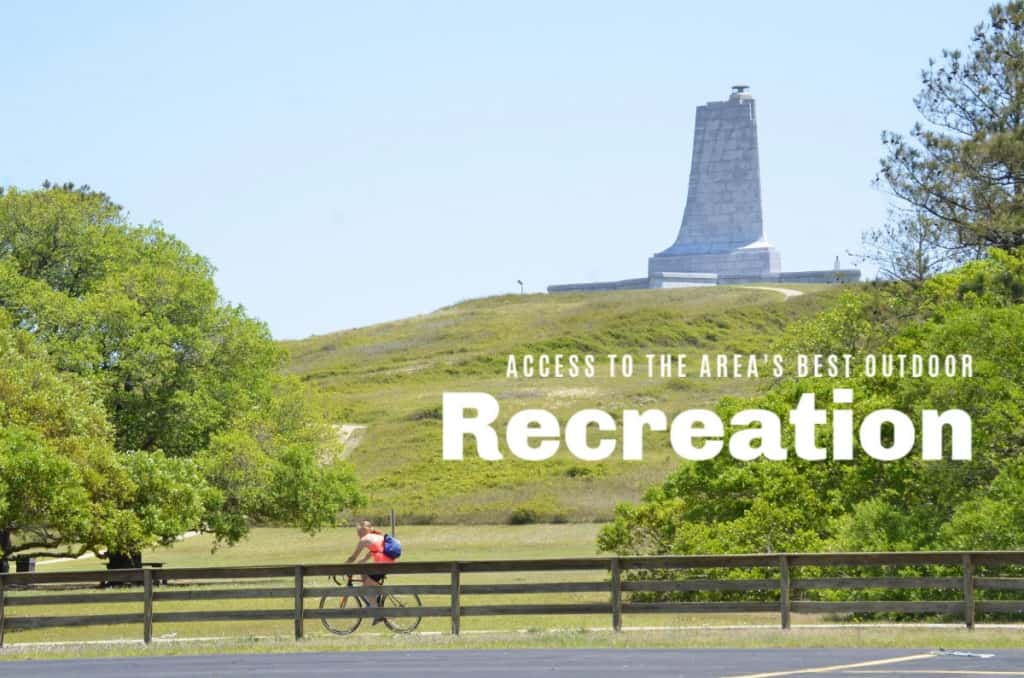 Living in Kill Devil Hills on the Outer Banks allows you access to some of the best recreational opportunities around