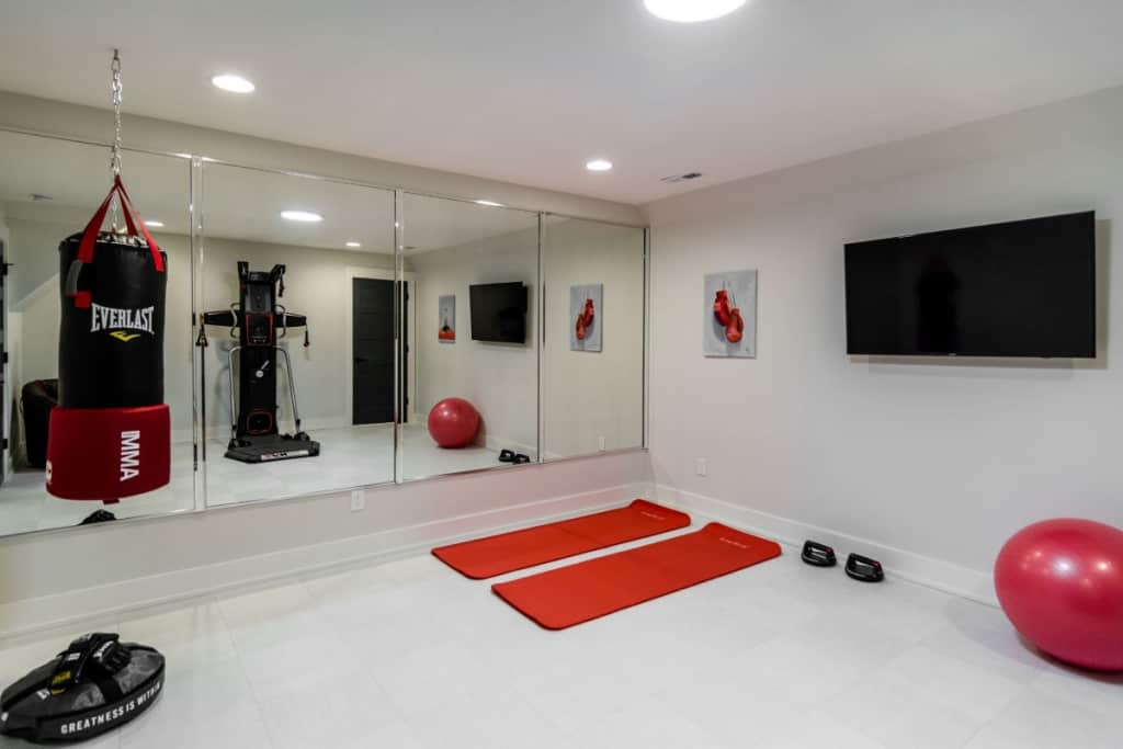 Create your very own workout space in a home gym on the Outer Banks
