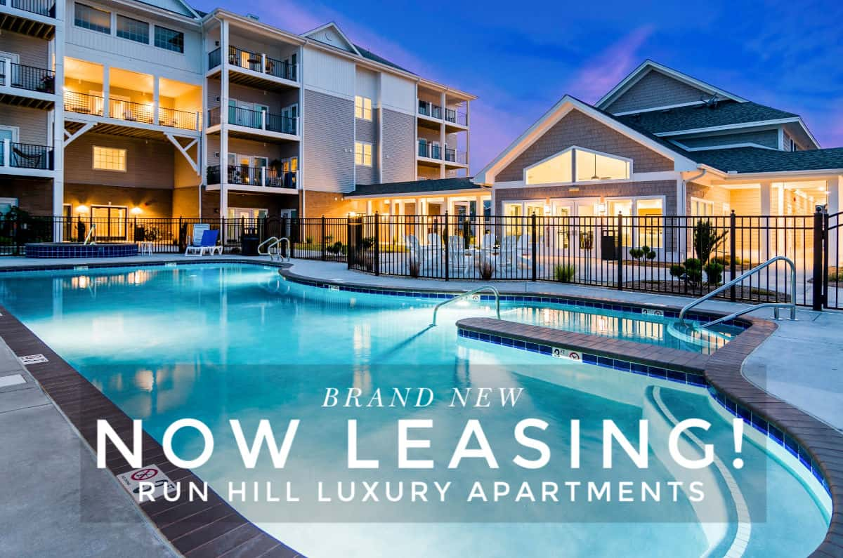Brand new luxury apartment villas accepting applications in Kill Devil Hills, Outer Banks, Run Hill