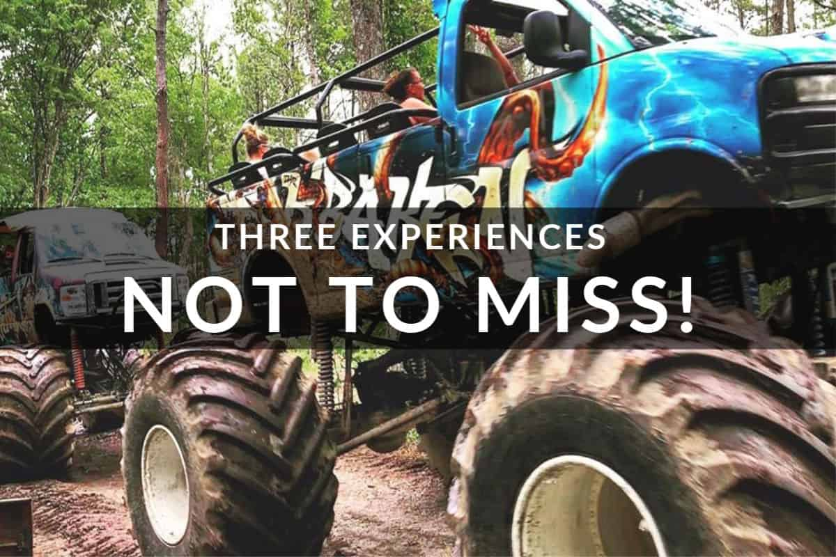 The Outer Banks is big on fun - OBX Monster Truck Rides on the Outer Banks NC