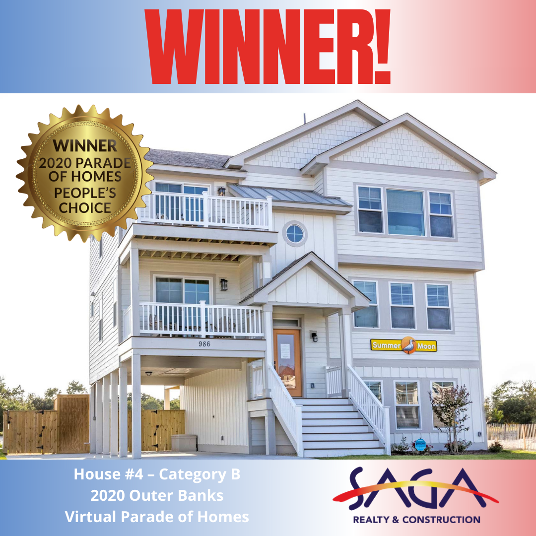 Parade of Homes Winner Peoples Choice Award Cat B SAGA Realty and Construction