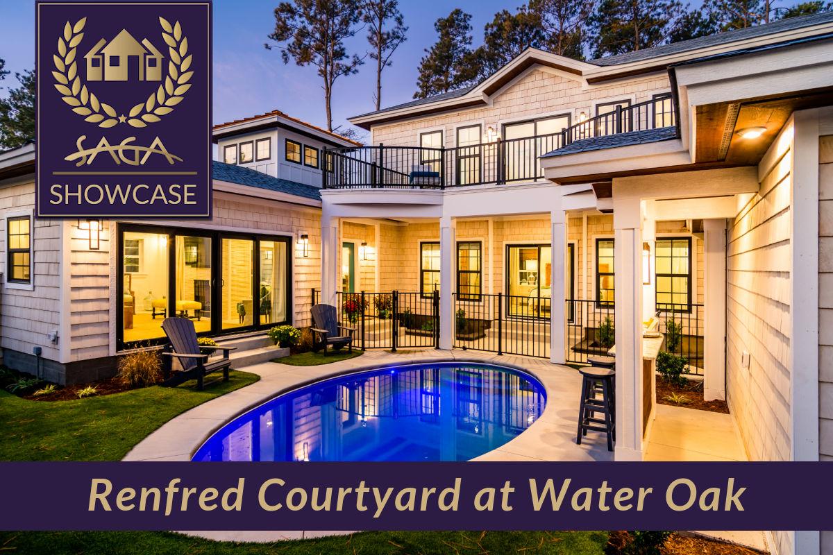 Renfred courtyard Water Oak Kill devil Hills Outer Banks Showcase SAGA