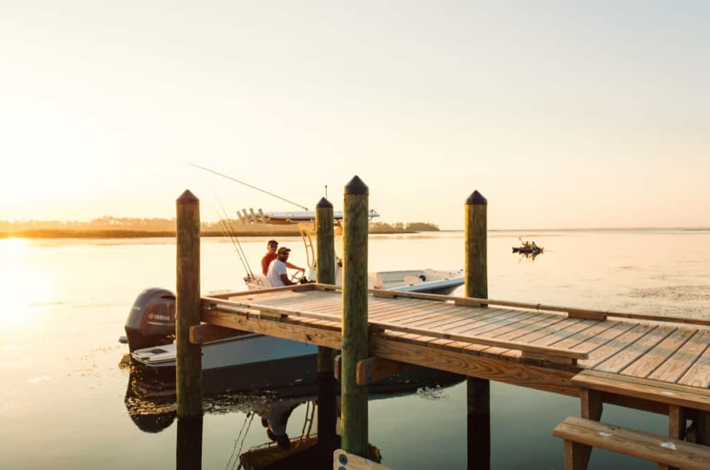 Living in the Outer Banks is all about water (image by Milepost Living)