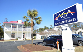 SAGA Real Estate Sales Office Martin's Point Outer Banks NC