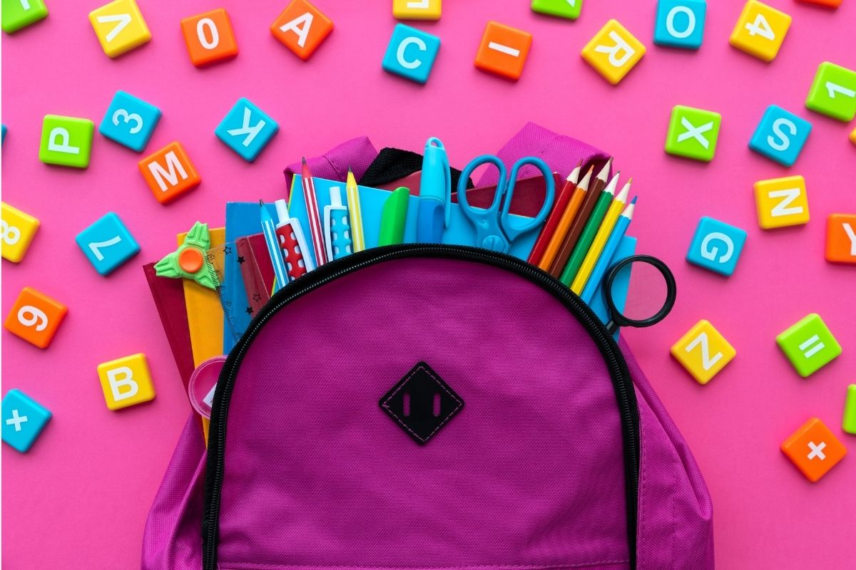 SCF helping community backpacks for kids