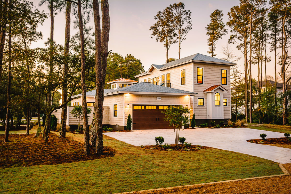 Water Oak in Kill Devil Hills on the Outer Banks is a new planned community by SAGA Realty and Construction