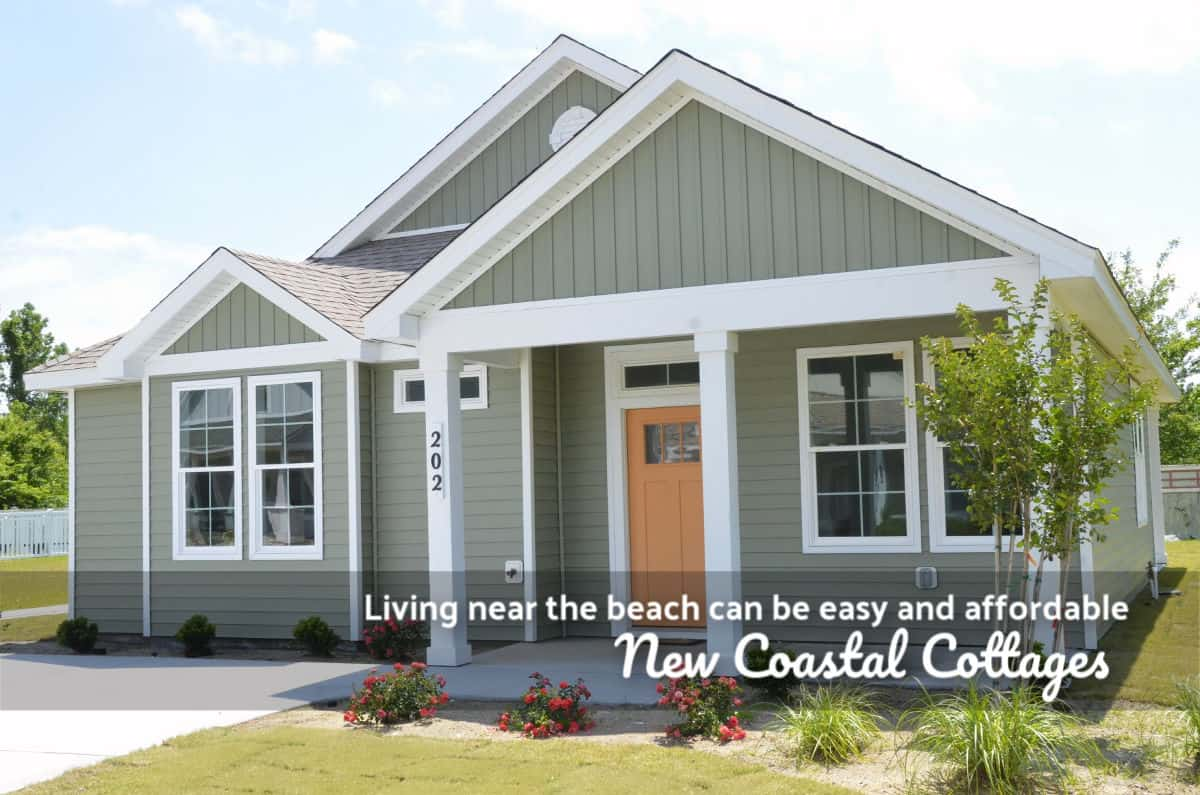 NEW construction in the gated community of Waterside Villages in Grandy a short drive to Outer Banks beaches by SAGA