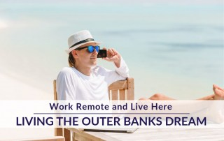 Work remote and live here SAGA outer banks
