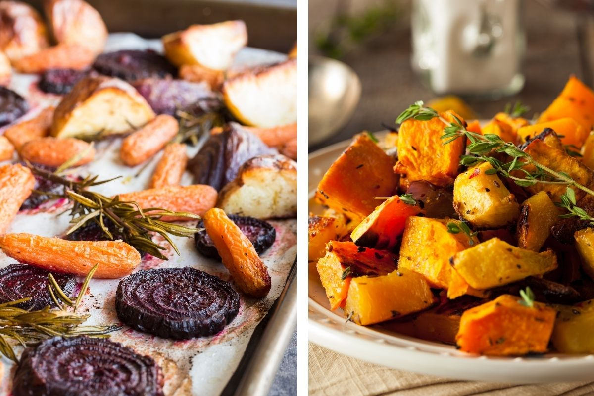 Choose your favorite root vegetables for this heart healthy root vegetables SAGA