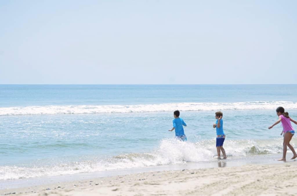 Fun in the sun in Corolla Outer Banks, beach life SAGA