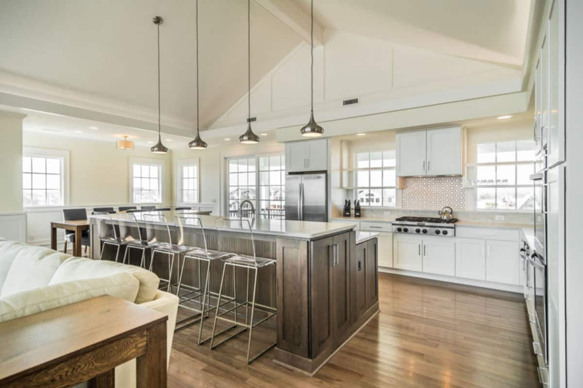 Featured kitchen of the month on the Outer Banks North Carolina built by SAGA