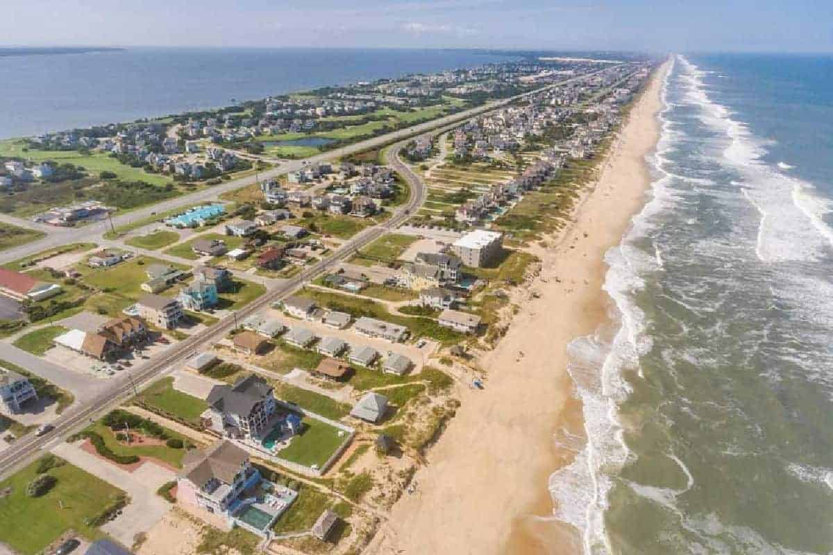 The number one reason everyone is here on the Outer Banks, the beach!